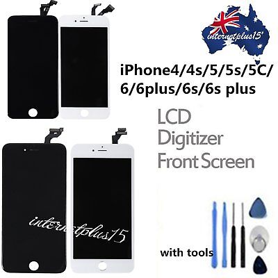 Assembly LCD Digitizer Screen Replacement +Tools for iPhone 5 5C 5S 6 6s AU
