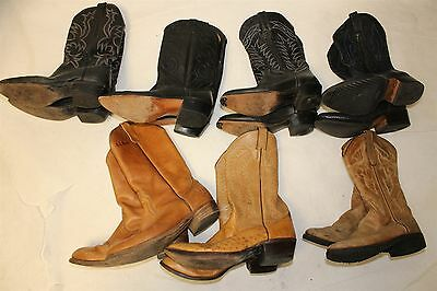 Lot COWBOY Boots Wholesale Resale USED REHAB LL Bean Justin Acme Dan Post cNkF