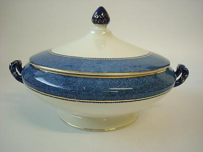 Woods Ware Powder Blue Large Lidded Vegetable Tureen