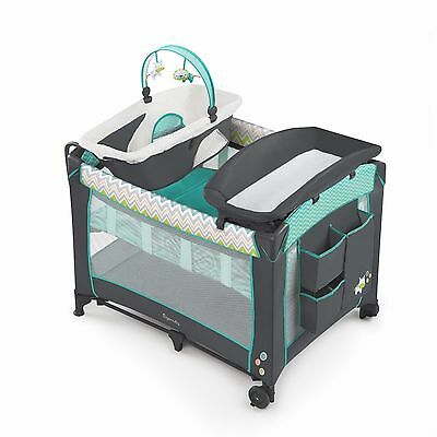 Baby Nursery Bassinet Infant Crib Cradle Furniture Newborn Sleeper Play Yard 36