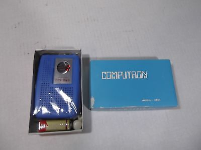 Vintage Computron AM Transitor Radio Model 2601 - Blue - NEW!