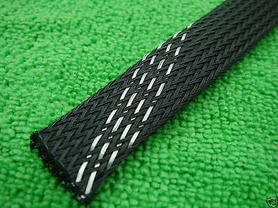 "4m x 15mm 0.6"" Audio Braided Cable Cover Sleeves,13"