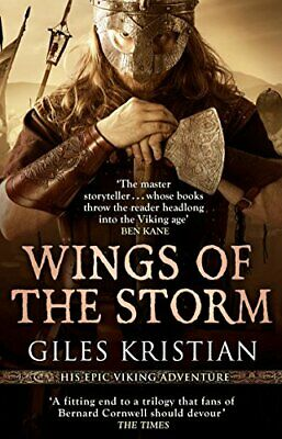 Wings of the Storm: (The Rise of Sigurd 3) by Kristian, Giles Book The Cheap