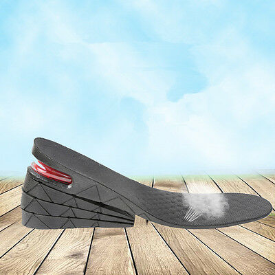 Four Layers Adjustable Height Increase Insole Heel Lifts Gain Altitude Shoe Pad