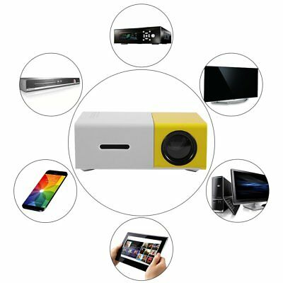YG300 Professional Mini Projector Full HD1080P Home Theater LED Projector LCD PP