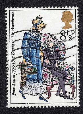 1975 8.5p Emma and Mr Woodhouse SG 989 FINE USED R18857