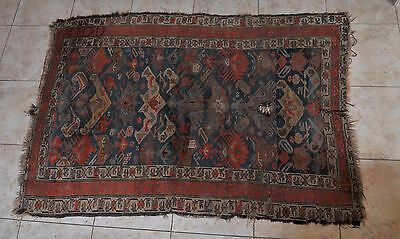 Antique hand-knotted carpet, 19th century