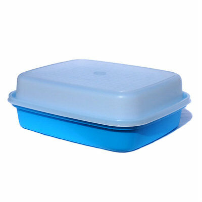 Tupperware Large Season Serve Marinator NEW in Blue and Sheer