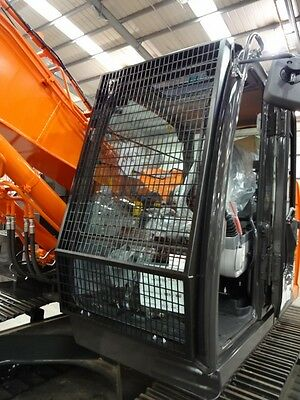 cabine bescherming Front Steel Mesh Guard cab protection