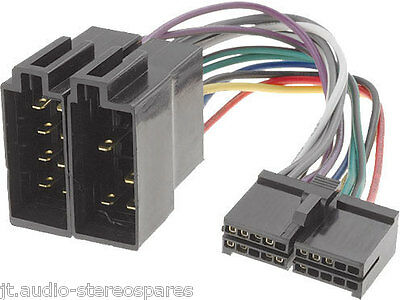 Sendai Cd779 Cd889 Cd998bt Cd Player Wiring harness lead iso Loom Wire Connector