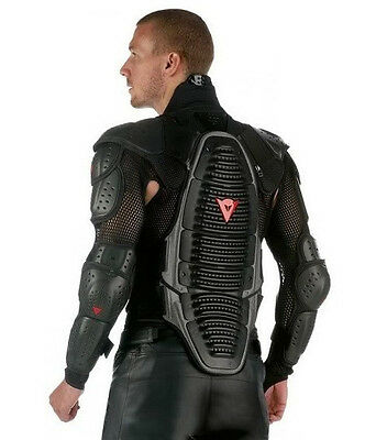 New Motorcycle Motor Bike Riding Full Body Armor Biker Protective Gear Wave Neck