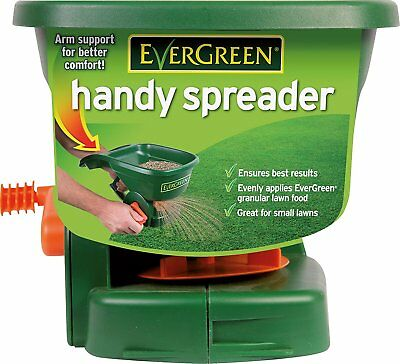 Evergreen Handy Lawn Seed Spreader Feeder Easy To Use, With 5 Settings