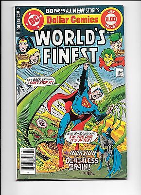 World's Finest #251 July 1978 1st appearance Count Vertigo Wonder Woman Batman