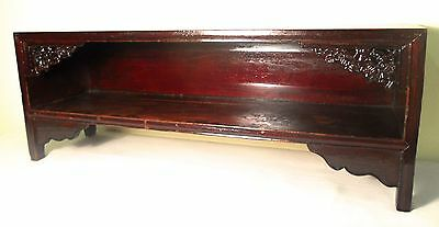 Antique Chinese Ming Shelf (5819), Circa 1800-1849