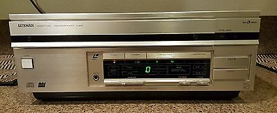 Luxman D-408 Cd/laser Disc Laservision Player