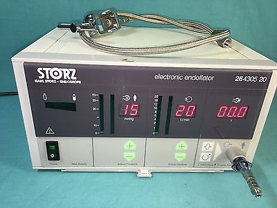Karl Storz 264305 20 Electronic Endoscopy Endoflator Insufflator with Co2 yoke