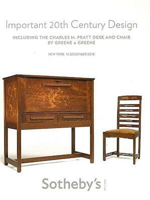Sotheby's /// Imp. 20th C. Design Deco Post Auction Catalog Dec. 2010