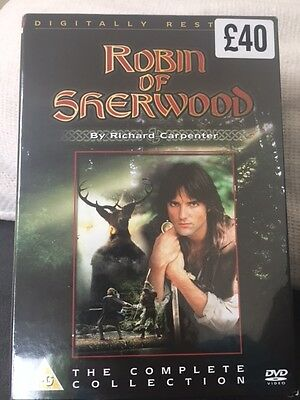 Robin Of Sherwood The Complete Collection DVD Box Set (2005 Release )