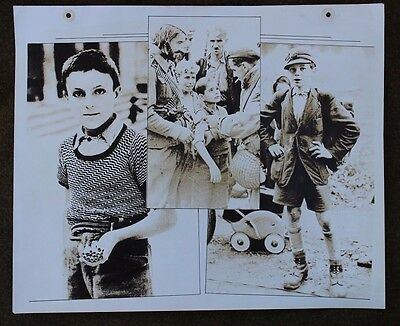 "HUGE ORIGINAL RARE WWII 14"" x 17"" PHOTO OF YOUTH IN WAR"