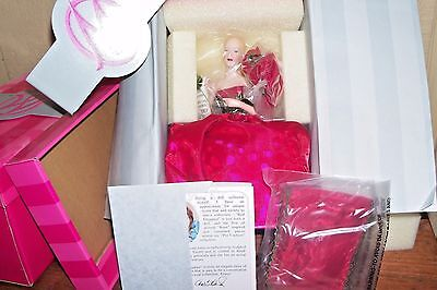 RED ELEGANCE by MARIE OSMOND HOME DECOR SERIES MINT NRFB PINCUSHION