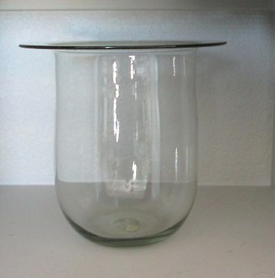Partylite Seville Replacement Glass Hurricane for 3-Wick Candle Stand Holder Ret