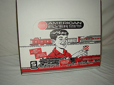 American Flyer Repro Multiple Use Set Box Only( No Trains Or Accesories) E-Ctrns