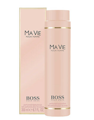 HUGO BOSS MA VIE POUR FEMME BODY LOTION 200ml * New & Sealed * Special Offer