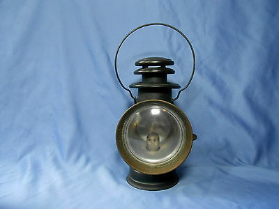 Vintage Dietz Union Jeweled Driving Lamp Dated Jan. 26, 97