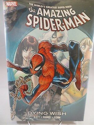 SPIDER-MAN DYING WISH HC Hardcover $24.99 SRP Dan Slott Ramos SEALED Free Ship!