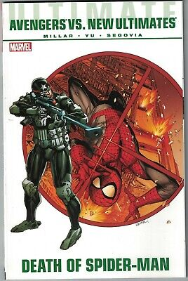 ULTIMATE AVENGERS VS NEW ULTIMATES DEATH OF SPIDER-MAN TP TPB $19.99 srp NEW