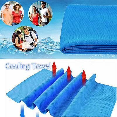 New Microfiber Hypothermia Towels Exercise Sweat Summer Sports Cooling Ice Towel