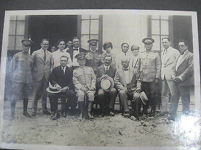 original photo of constitutional army officers 20s in Cuba