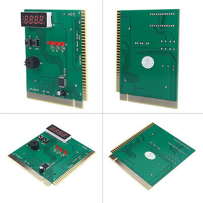 4-Digit Card PC Test Motherboard POST Analyzer Computer Power Supply Tester TP