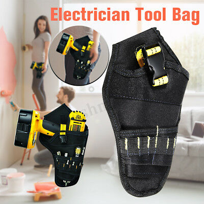 Drill Holster Cordless Heavy Duty Impact Driver Holder Pouch Belt Bag Pocket