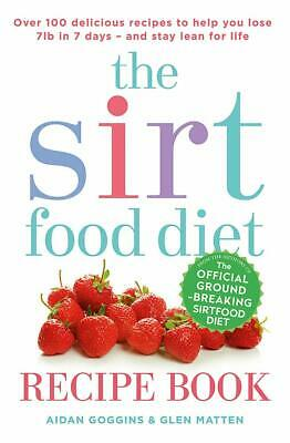 The Sirtfood Diet Recipe Book Diet plan, Weight loss, Healthy eating, Meal Plans