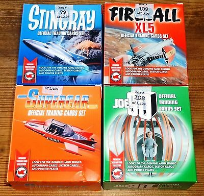 Gerry Anderson Collection - Stingray, Fireball XL5, Joe 90, Supercar Sets/Boxes