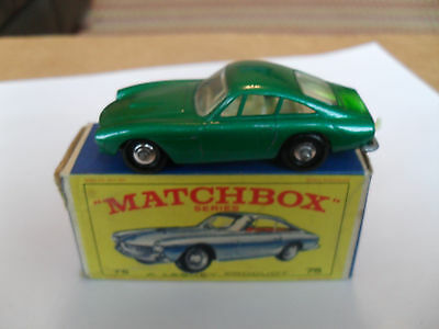 MATCHBOX LESNEY RW 1-75 No 75 FERRARI BERLINETTA VIRT MINT IN V GOOD PLUS BOX