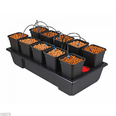 Nutriculture Atami Wilma System 10 Pflanzen 6L Grow Hydrosystem hydroponisch TOP