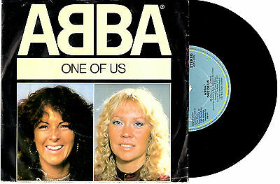 "Abba - One Of Us / Should I Laugh Or Cry - 7"" 45 Vinyl Record Pic Slv 1981"