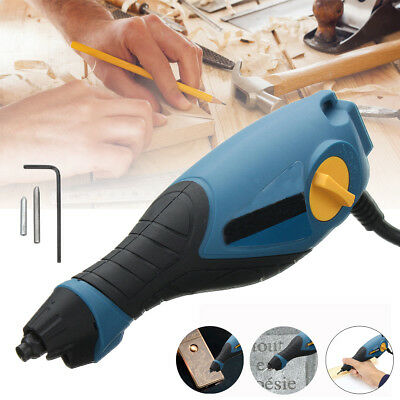 Engraving Machine Grout removal Tool Metal Glass Wood Plastic Engraver Craft Pen
