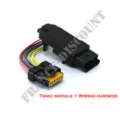 Temic module window + wiring harness connector = 0675D1 0675D3 0675D4 0675E2