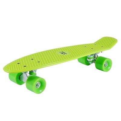 Hudora Skateboard Retro Lemon Green, ABEC 5, PP Deck