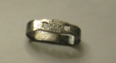 Rogers Bros. Napkin ring silver Soldered Eternally Yours