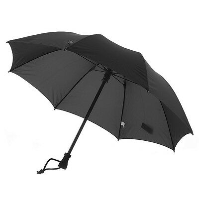 Euroschirm Birdiepal  Durable Trekking Umbrella-Black