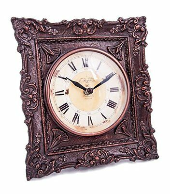 """Thurnford Hall"" Antique Table Clock"