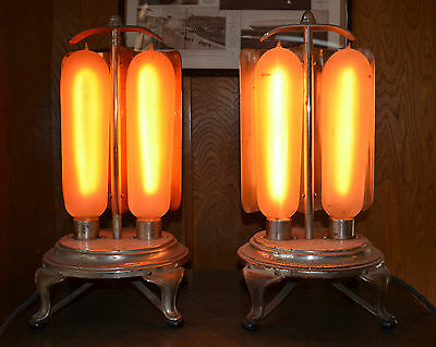 ONE (1) Antique Electric GE General Electric Bulb Heater Luminous Radiator