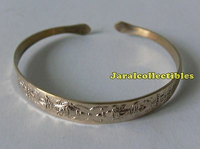 Authentic Rare Sacred Holy Thai God Angel Buddha Amulet Bright Bracelet Bangle