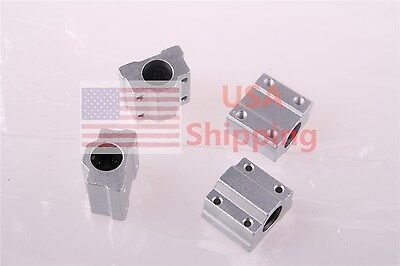 4X SC8UU SCS8UU Linear Motion Ball Bearing Slide Bushing RepRap 3D Printer