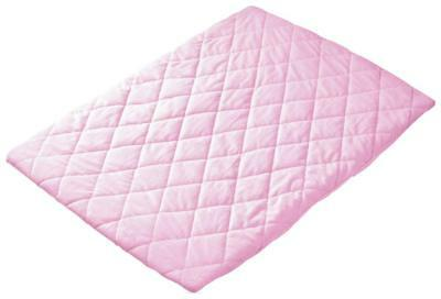 Playette Quilted Travel Cot Sheet (Pink) - 73 x 105cm Free Shipping!