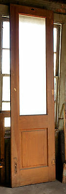 Textured Glass Paneled Doors, Set of 4 with raised panels, one without Glass